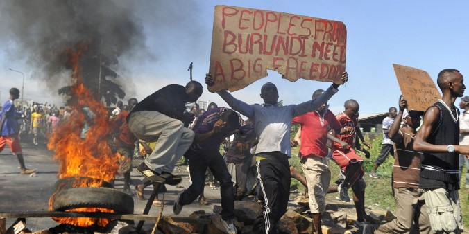 BURUNDI-POLITICS-UNREST-VOTE